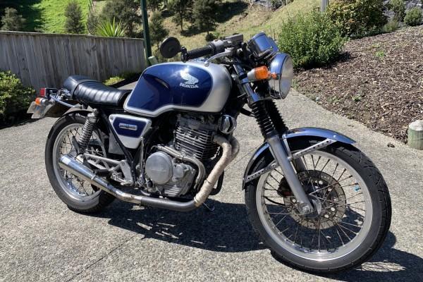 Motorcycle Honda Gb400tt