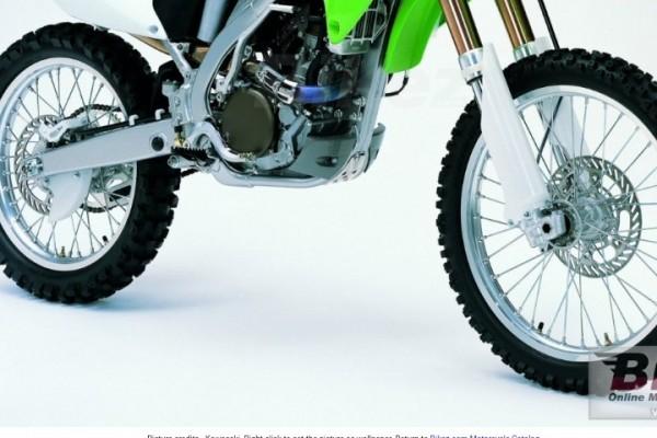 Motorcycle 2004 Kawasaki KX 250F