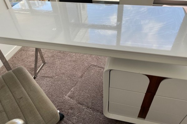 $1 reserve! - Modern Desk, Chair and Shelving Unit, Desk, Chair