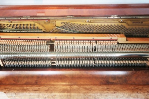 Robert meissner leipzig upright piano