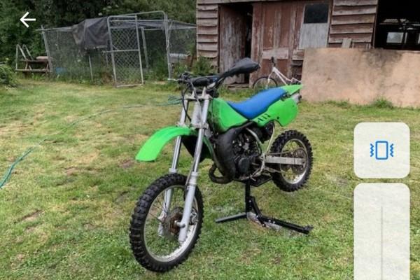 Motorcycle Kawasaki KX 80