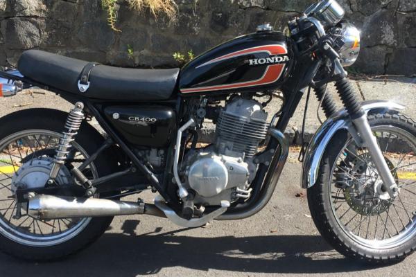 Motorcycle Honda CB 400SS
