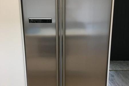 Samsung SRS584NLS Fridge Freezer - Stainless Steel