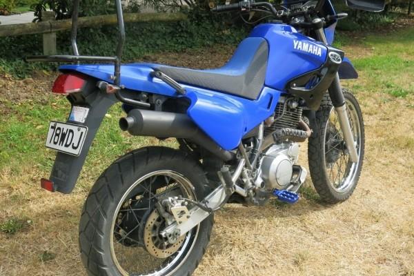 Motorcycle yamaha XT600 E
