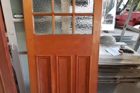 Heavy timber door