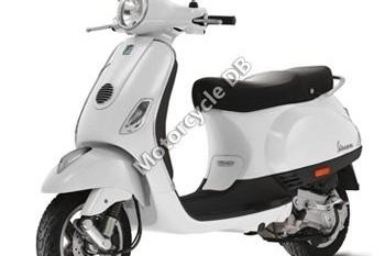 Motorcycle Vespa LX 50, 2007