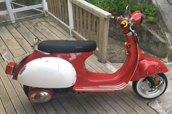 Motorcycle Motus VES50