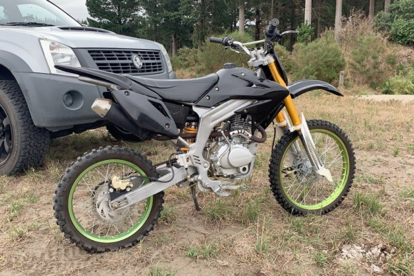 Motorcycle Atomik Hummer
