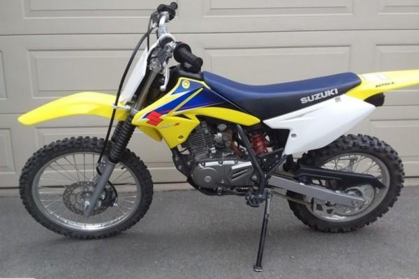 Motorcycle suzuki dr125L