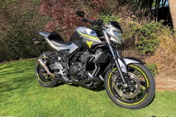 Motorcycle Yamaha MT-03