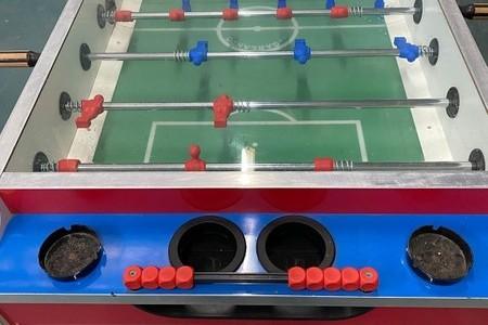 2 x soccer tables