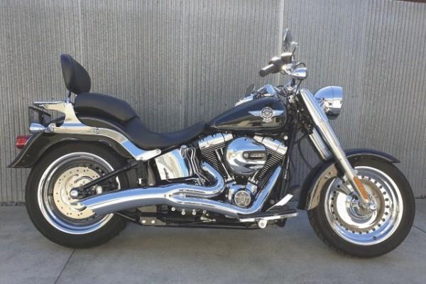 Motorcycle Harley Davidson Fat boy