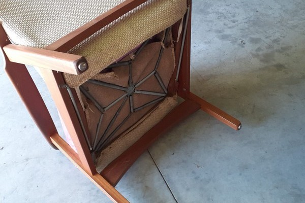 Pair of Mid Century Recliner D A Lewis Lounge Chairs