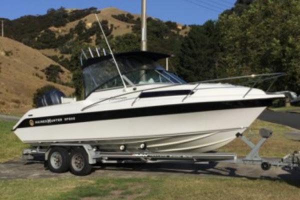 Motor boat Haines Hunter SF600