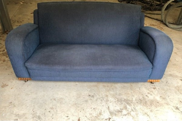 Art Deco Sofa & Arm Chair