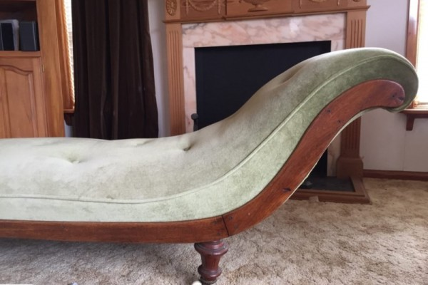 Antique Victorian / Edwardian Chaise Longue