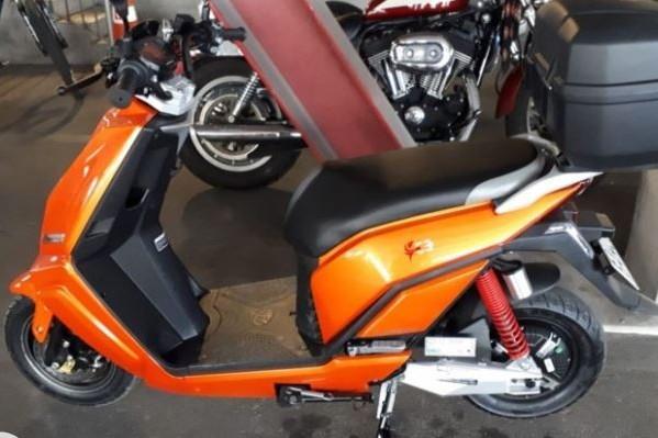 Motorcycle Lifan E3 (moped)