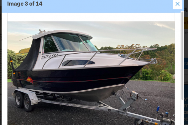Motor boat Ryan Pursuit 600 GT