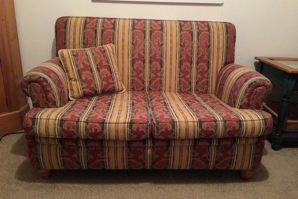 Small two seater couch