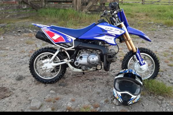 Motorcycle Yamaha Ttr50 kids bike