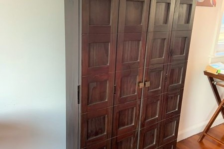 Wooden CD/DVD Wall Unit