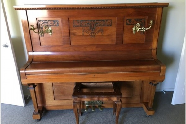 Old Steinmeyer piano