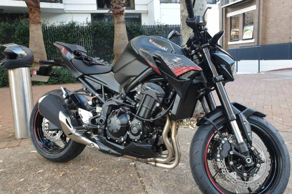 Motorcycle Kawasaki z490