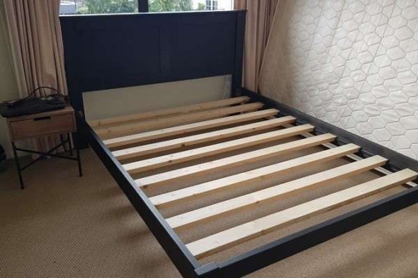 Queen Bed with Base