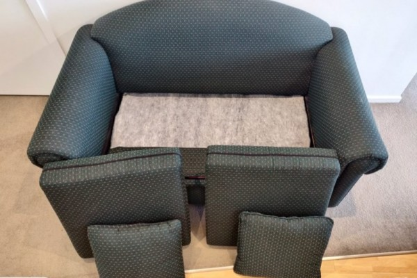 2-seater Sofa Bed Single