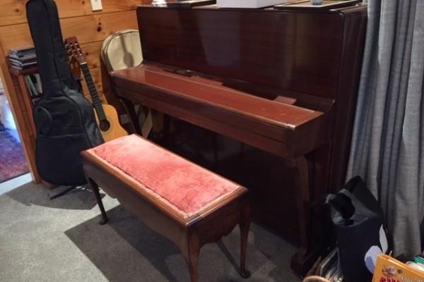 John Baxendale piano