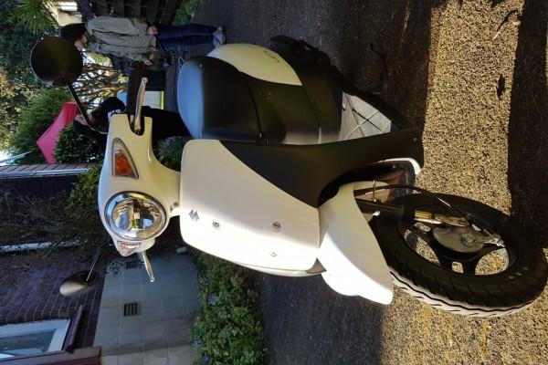 Motorcycle Suzuki Uz50