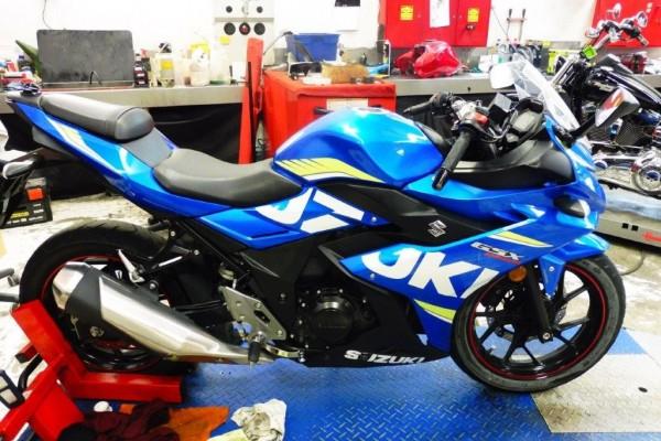 Motorcycle suzuki GSX-R 250