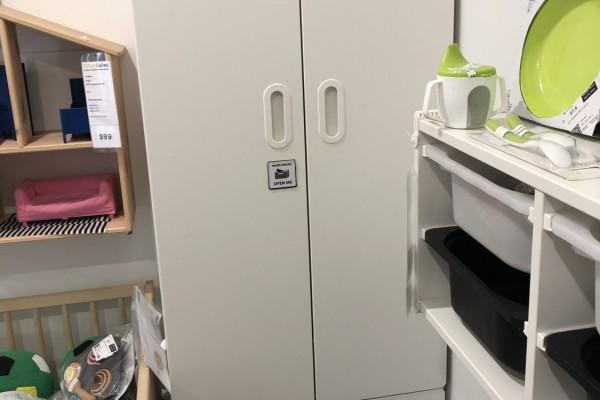IKEA assembled wardrobe