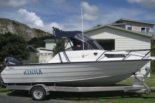 6m Aluminium motor boat