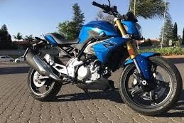 Motorcycle BMW G310R