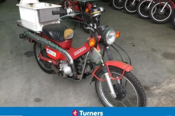 Motorcycle honda ct110