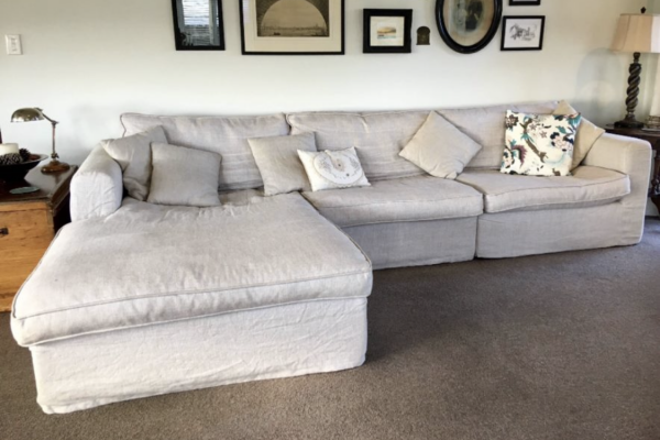 Sectional sofa three pieces
