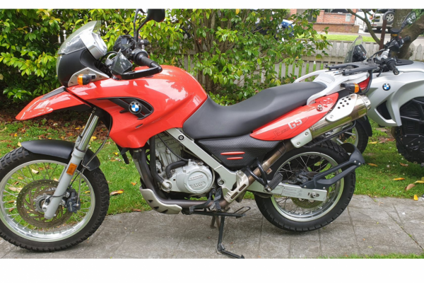 Motorcycle Bmw F650GS 2007
