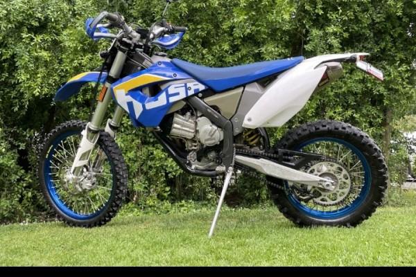 Motorcycle Husaburg Fe450