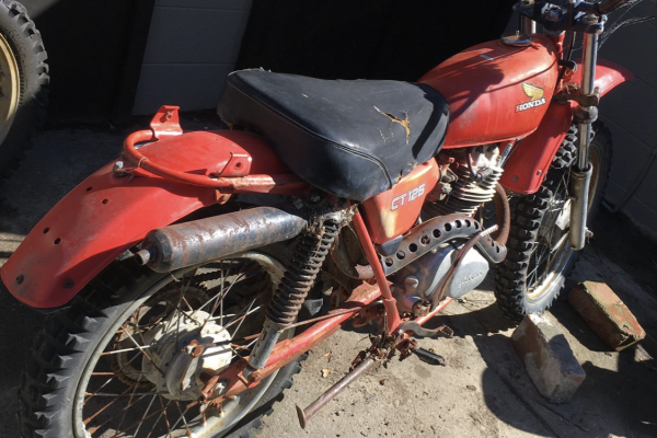 Motorcycle Honda Ct125