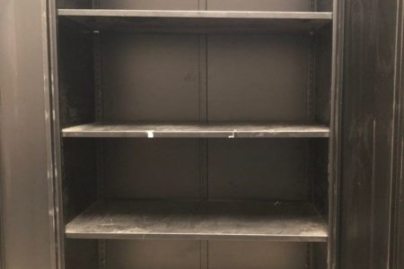 Precision 2 Door Metal Lockable Cabinet