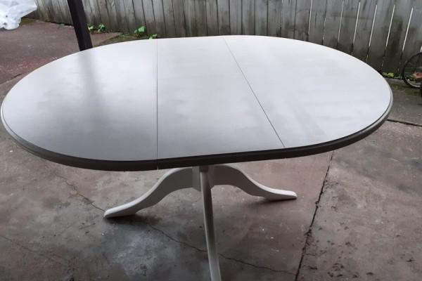 Lovely white dining table