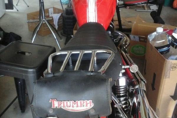 Motorcycle Triumph Scrambler